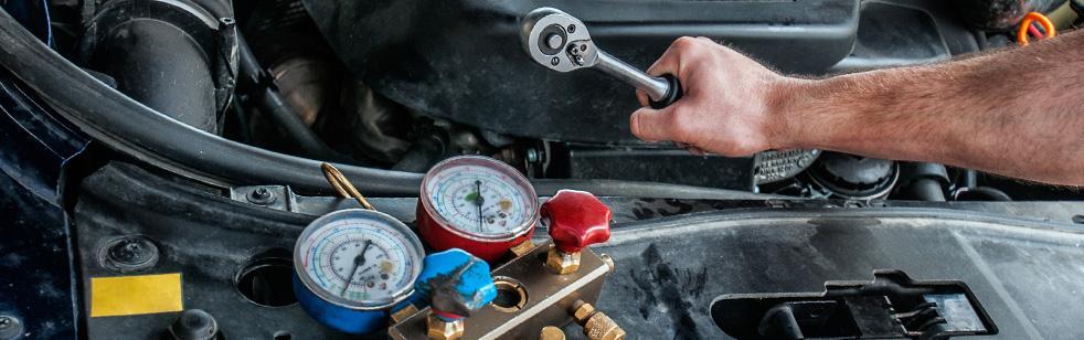 Naprawa iserwis klimatyzacji samochodowej